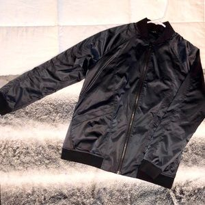 Black Lululemon Bomber Jacket